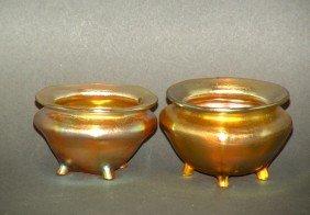 Pair Of Tiffany Master Salts
