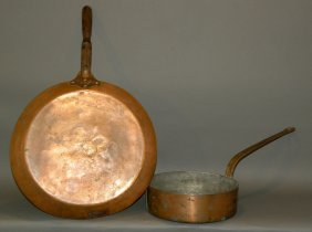 2 Copper Pans