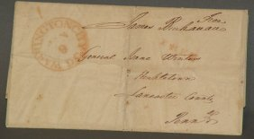 President James Buchanan Signature & Envelope