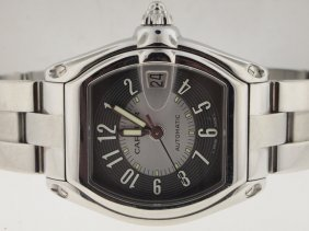 Cartier Mens Roadster Automatic. Box/Papers.