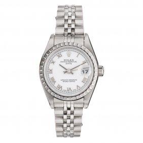 Reloj Rolex Oyster Perpetual Date, Ca. 2002 Caja Y