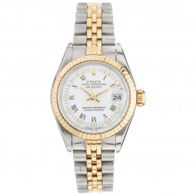 Reloj Rolex Oyster Perpetual Datejust, Ca. 1991 Caja Y