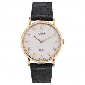 Reloj Rolex Cellini, Ca. 1995-1998 Caja En Oro