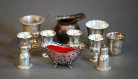 Lot Of 11 Assorted Pieces Of S.s. Tableware