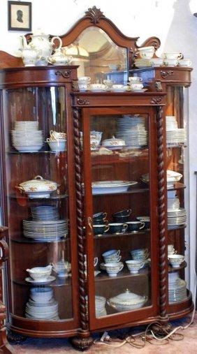 American Victorian Display Cabinet