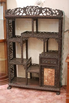Antique Chinese Etagere
