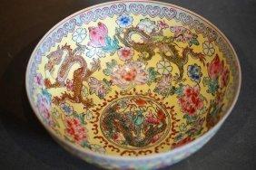 Chinese Export (eggshell Style) Porcelain Bowl