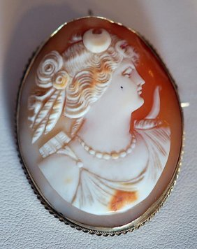 Antique 14k Ladies' Pin/pendent