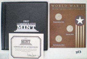 WWII Nickle Coin Set