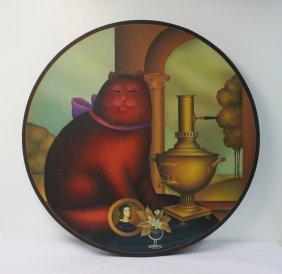 """Igor Galanin (russian American,1937-),""""tea"""""""