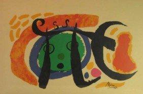 JOAN MIRO, SPANISH (1893-1983)
