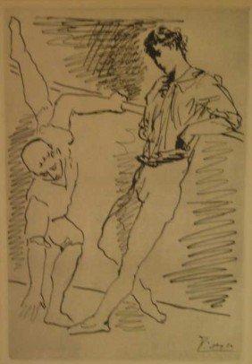 PABLO PICASSO, SPANISH (1881-1973)