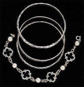 Sterling Silver Bracelets,