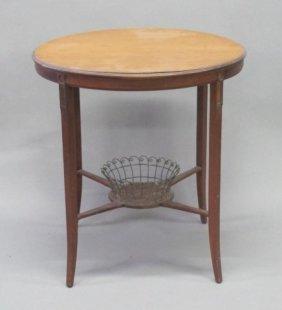 CIRCULAR SIDE TABLE: