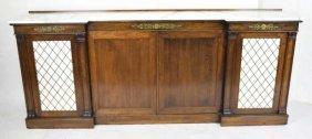 Kittinger Marble Top Regency Style Sideboard