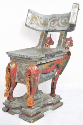 Chicago Oriental Theater Cat Chair