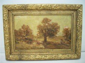 J.L. Petrie Oil On Wood Panel