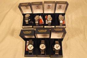 7 Lorus Watches