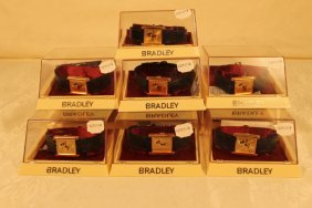 7 Bradley Wristwatches In Cases