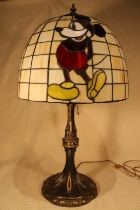 Dale Tiffany Mickey Mouse Table Lamp