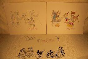 3 Mark Mitchel Signed Prints