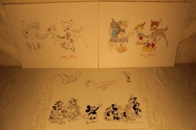 3 Prints, Signed By Mitchell