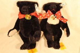 2 Steiff Bears, 1991 & 1992 Teddy Bear Convention