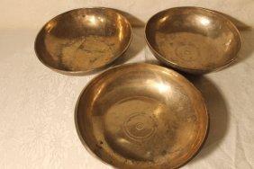 3 Tibetan Singing Bowls