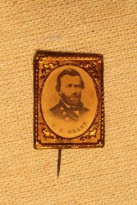 Ulysses S. Grant 1868 Campaign Button