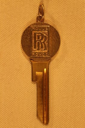 Cartier 14kt Rolls Royce Key