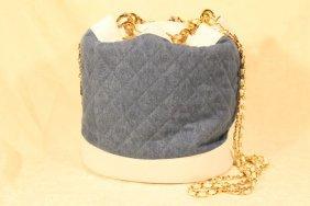 Chanel Vintage Bucket Tote