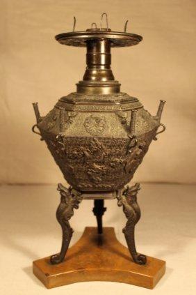 Bronze Oriental Sensor/lamp