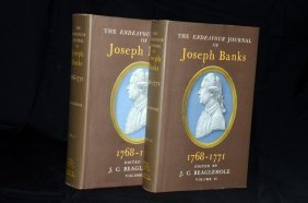 Endeavour Journal Of Joseph Banks - Signed By JC B