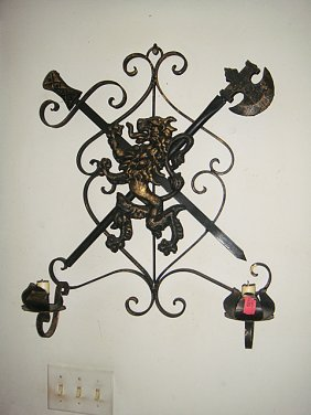 Estate Wrought Iron Candelabra