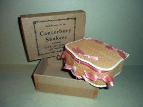 Shaker Basket Weave Sewing Box