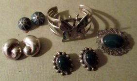 Miscellaneous Lot Of Sterling Jewelry
