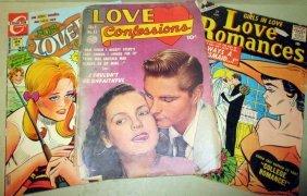 Lot Of Three Romance Comic Books 1950/60s