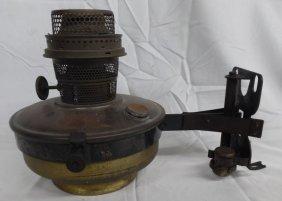 Antique Aladdin Model B Nu-type Train Caboose Lamp