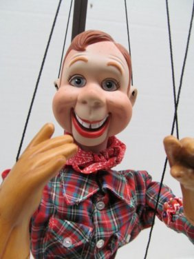 "Vintage Howdy Doody String Puppet ~ 24"" Tall"