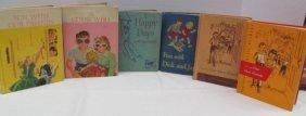 Lot Of 6 Retro Dick, Jane & Sally Reading Books ~