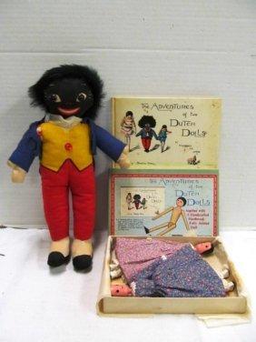 Vintage Golliwog ~ The Adventures Of Two Dutch Dolls ~