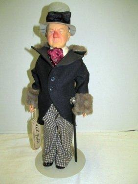 """Vintage (49) Effanbee 17"""" W.c. Fields Centennial Doll ~"""