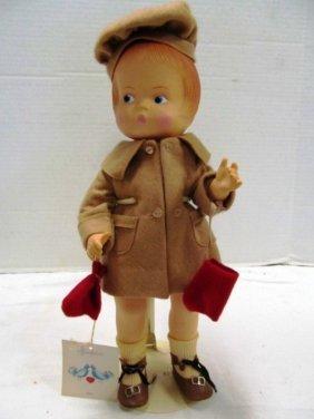 Vintage (50) Effanbee Doll ~ Patsy ~ Camel Hair Coat &