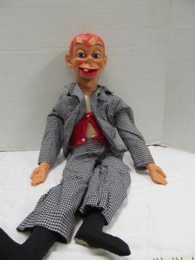 Vintage (159) Mortimer Snerd Ventriloquist Dummy ~