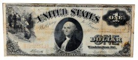Series 1917 US $1 Note