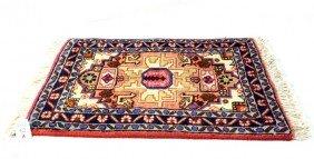 """Ardabil Prayer Rug 1'10""""x1'3"""""""