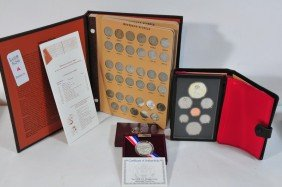 Coin Lot Including Book Of Jefferson Nickels, 197