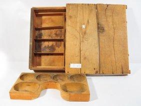 Tucker & Dorsey Wooden Cash Drawer 18x16x5