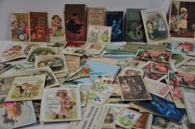 Victorian Trade Cards Over 50