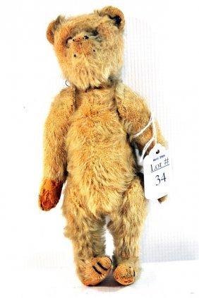 """9"""" Steiff Teddy Bear Has Button In Ear.. Played Con"""